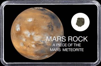 Mars Meteorit Ouargla 003 (Motiv: Mars Atmosphäre)