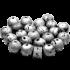 Kategorie Eisen-Meteorit-Anhänger (Aletai | Zylinder & Perlen | Gelocht & Versiegelt)