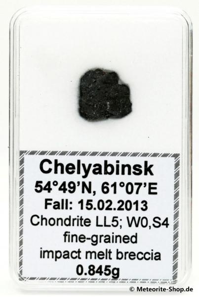 Chelyabinsk (Tscheljabinsk) Meteorit - 0,845 g