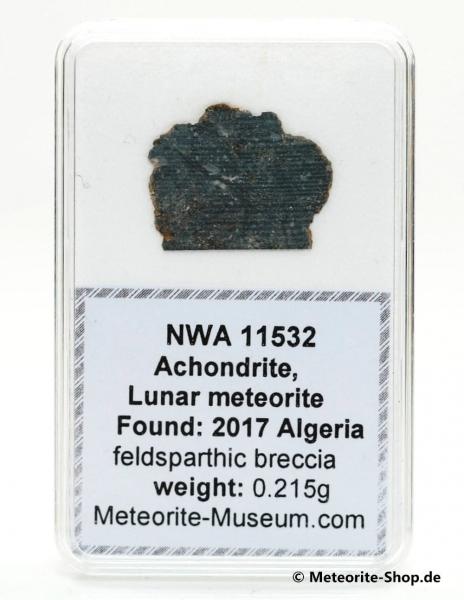 NWA 11532 Mond Meteorit - 0,215 g