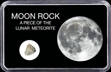 Mond Meteorit NWA 11407 (Motiv: Vollmond II)