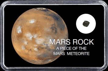 Mars Meteorit NWA 6963 (Motiv: Mars Atmosphäre)