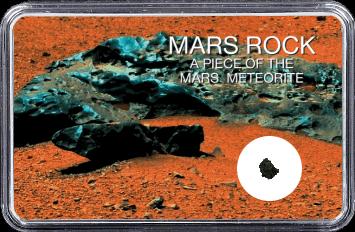 Mars Meteorit NWA 10628 (Motiv: Mars Eisenmeteorit)