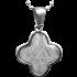 Kategorie Eisen-Meteorit-Anhänger (Muonionalusta | Kleeblatt)