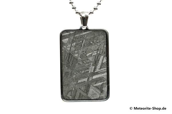 Eisen-Meteorit-Anhänger (Muonionalusta | Rechteck) - 8,50 g