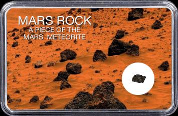 Mars Meteorit NWA 4925 (Motiv: Marsgestein und Meteoriten Feld I)