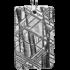 Kategorie Eisen-Meteorit-Anhänger (Muonionalusta | Rechteck | Rhodiniert)