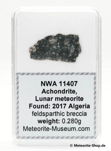 NWA 11407 Mond Meteorit - 0,280 g