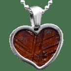 Eisen-Meteorit-Anhänger (Muonionalusta | Herz)