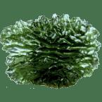 Impaktite wie Moldavite, Indochinite, Libysches Wüstenglas und Irghizite
