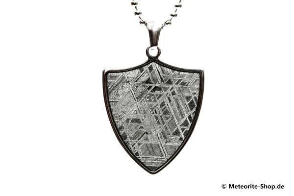 Eisen-Meteorit-Anhänger (Muonionalusta | Schild) - 7,20 g