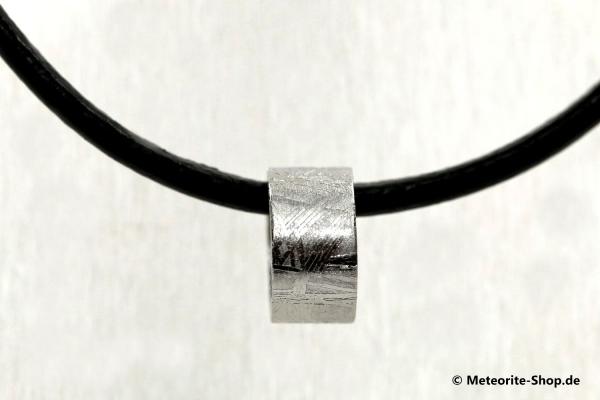 Eisen-Meteorit Collier & Halskette (Muonionalusta | Ring | Veredelt) - 2,20 g