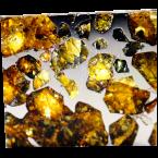 Stein-Eisen-Meteoriten der Klasse Pallasit