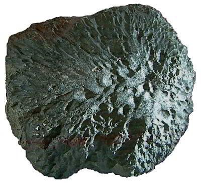Orientierter Krähenberg Meteorit
