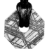 Kategorie Eisen-Meteorit-Anhänger (Muonionalusta | Achteck-Donut | Kl. Ø | Rhodiniert)