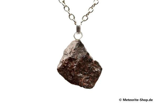 Stein-Meteorit-Anhänger (NWA 4293 | Natura | 925er Silber) - 6,20 g