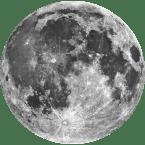 Echter Mond Meteorit und Mondgestein von unserem Erdtrabanten