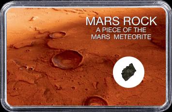 Mars Meteorit NWA 10628 (Motiv: Mars Tiefebene Acidalia Planitia)