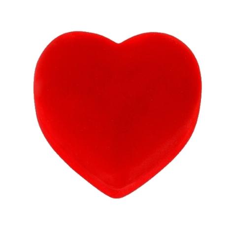 Herzbox aus Velours