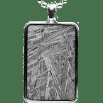 Eisen-Meteorit-Anhänger (Muonionalusta | Rechteck)