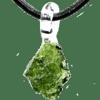 Moldavit-Anhänger (Tektit | Natura)