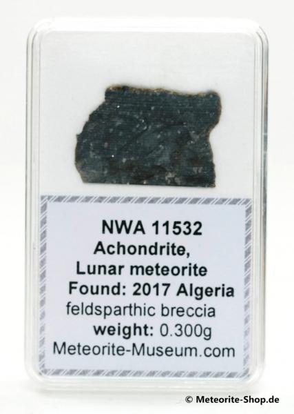NWA 11532 Mond Meteorit - 0,300 g