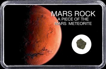 Mars Meteorit NWA 6963 (Motiv: Planet Mars rote Sanddüne)