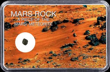 Mars Meteorit NWA 4925 (Motiv: Marsgestein und Meteoriten Feld II)