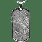 Eisen-Meteorit-Anhänger (Muonionalusta | Amulett)