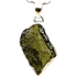 Kategorie Moldavit-Anhänger (Tektit | Natura | 925er Silber)