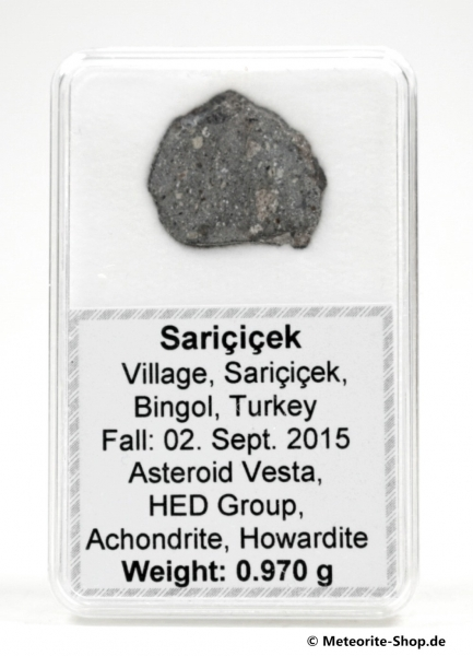 Sariçiçek Vesta Meteorit - 0,970 g