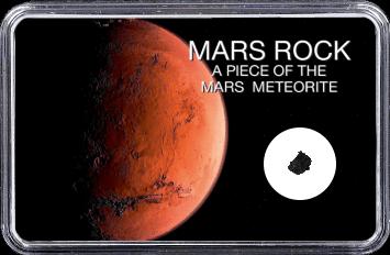 Mars Meteorit NWA 10628 (Motiv: Planet Mars)