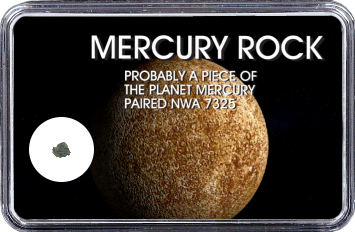 Merkur Meteorit NWA 7325 (Motiv: Planet Merkur)