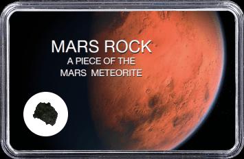 Mars Meteorit NWA 6963 (Motiv: Planet Mars Nahaufnahme Sanddüne)