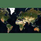 Meteoriten weltweiter Meteoritenfaelle & Meteoriteneinschlaege