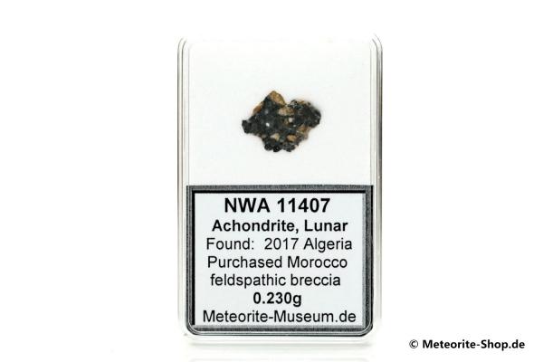 NWA 11407 Mond Meteorit - 0,230 g