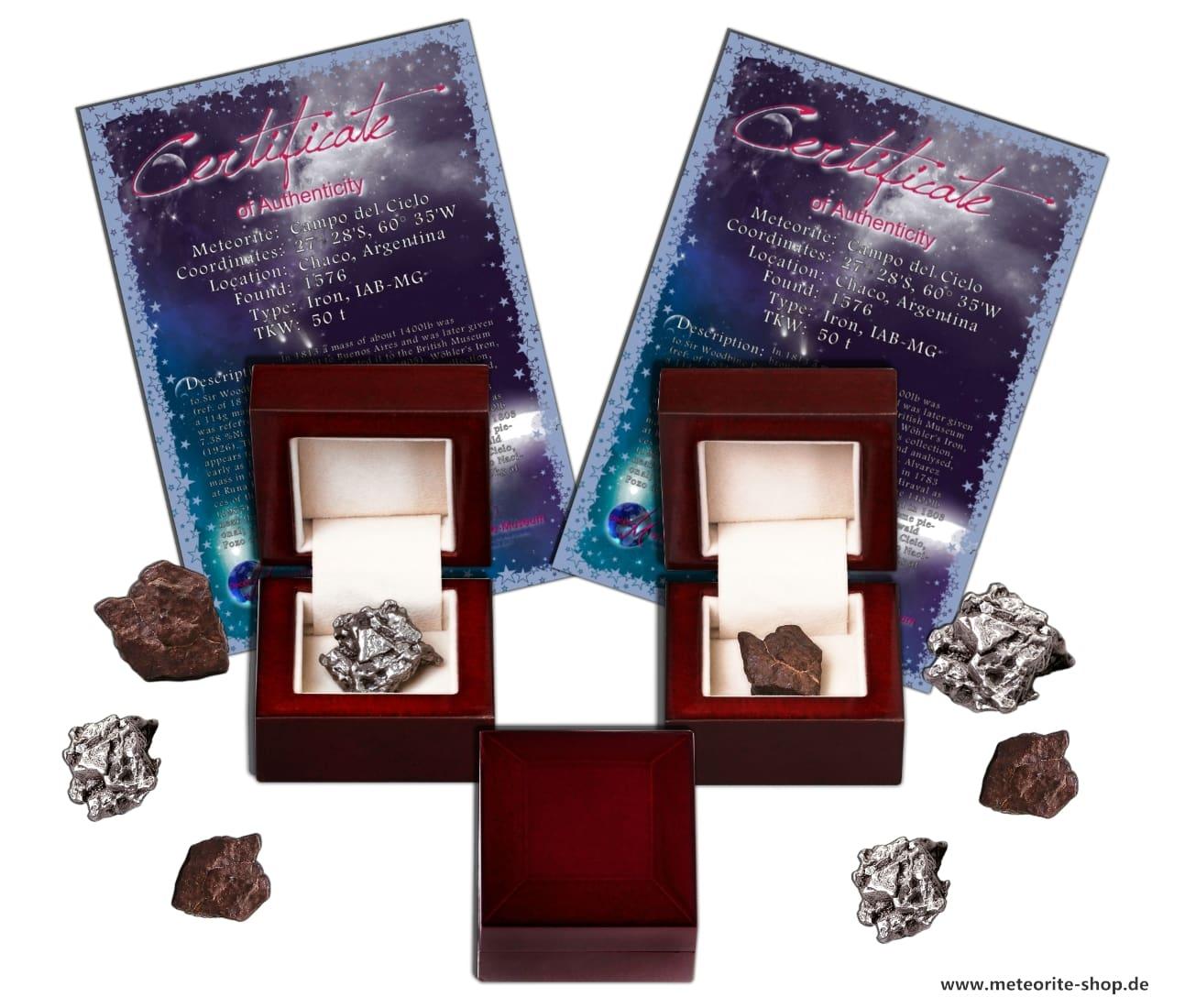 Sternschnuppe als Geschenk zur Hochzeit