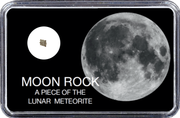 Mond Meteorit NWA 10318 (Motiv: Vollmond I)