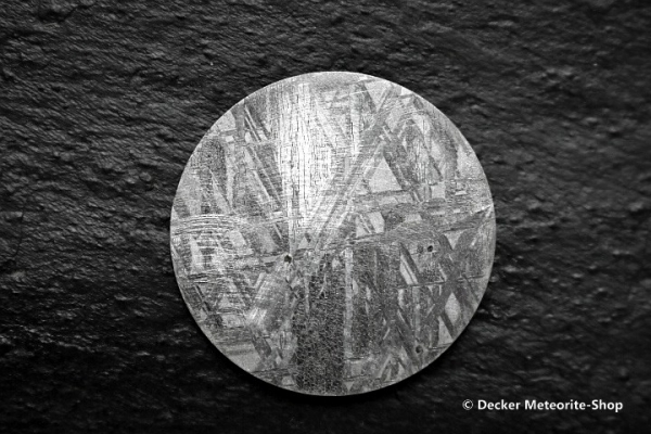 Muonionalusta Meteorit Planet/Zifferblatt Vorderansicht