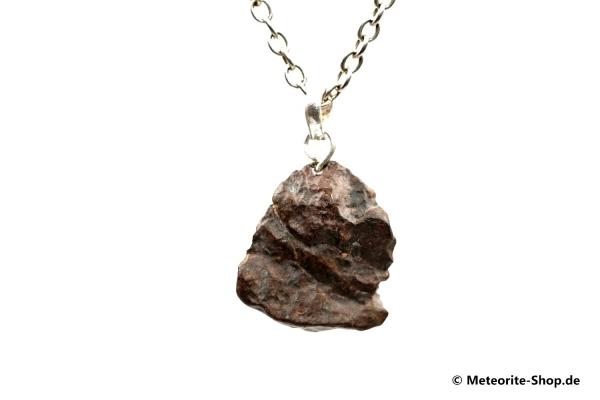 Stein-Meteorit-Anhänger (NWA 4293 | Natura | 925er Silber) - 6,45 g