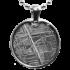 Kategorie Eisen-Meteorit-Anhänger (Muonionalusta | Scheibe)