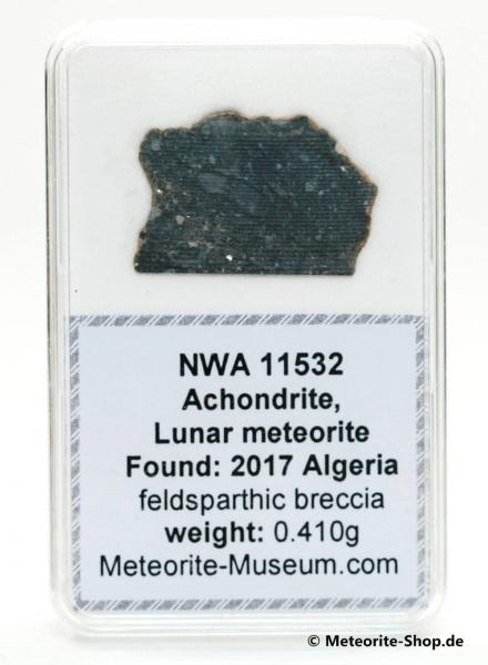 NWA 11532 Mond Meteorit - 0,410 g