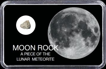 Mond Meteorit NWA 11407 (Motiv: Vollmond I)
