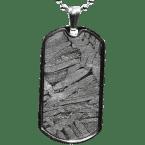Stein-Eisen-Meteorit-Anhänger (Seymchan | Amulett)