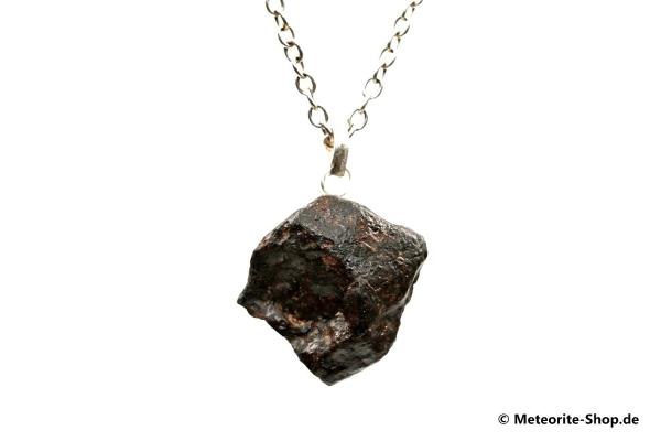Stein-Meteorit-Anhänger (NWA 869 | Natura | 925er Silber) - 16,00 g