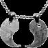 Kategorie Eisen-Meteorit-Anhänger (Muonionalusta | Partner-Anhänger | Yin und Yang)