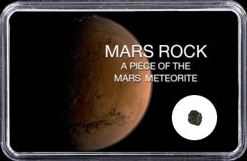 Mars Meteorit Ouargla 003 (Motiv: Planet Mars braune Sanddüne)