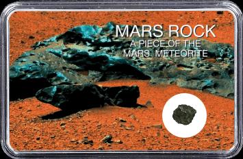 Mars Meteorit Ouargla 003 (Motiv: Mars Eisenmeteorit)