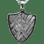 Stein-Eisen-Meteorit-Anhänger (Seymchan | Schild)
