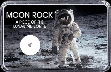 Mond Meteorit NWA 10318 (Motiv: Astronaut)
